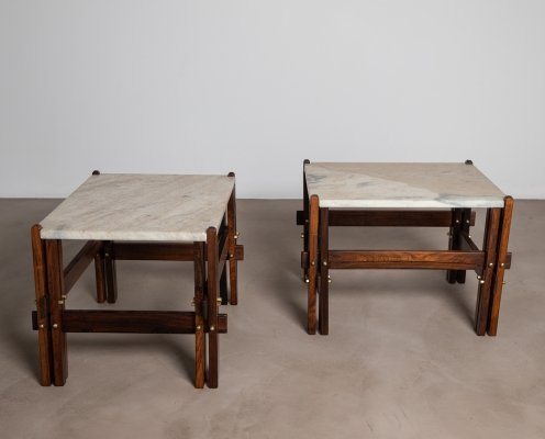Brazilian Mid-Century Side Tables, 1950s
