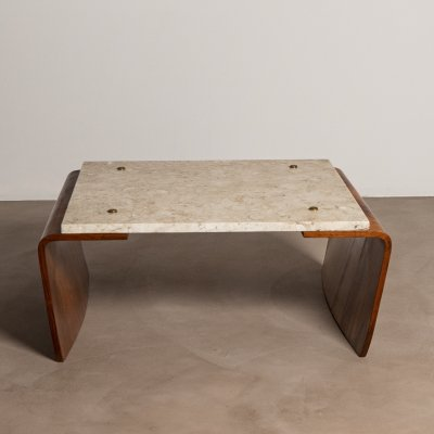 Rare Coffee Table by Jorge Zalszupin, 1960s