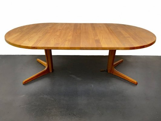 Extending Table in Teak Wood by Glostrup Möbelfabrik, 1970s