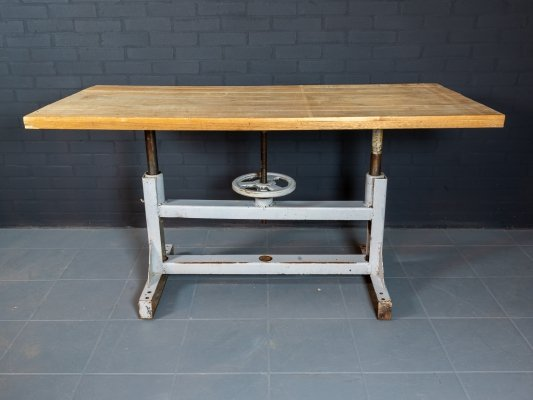 Industrial vintage table
