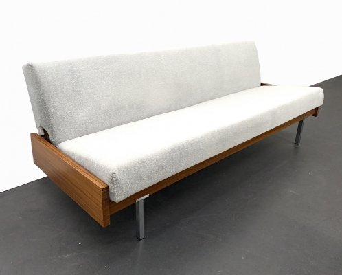 Mid-Century Daybed / Sofa in Teak Wood, 1960s