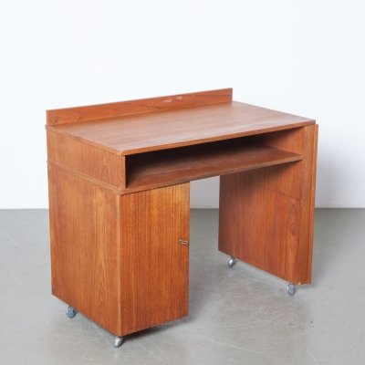 Teak desk / work station, 1960s