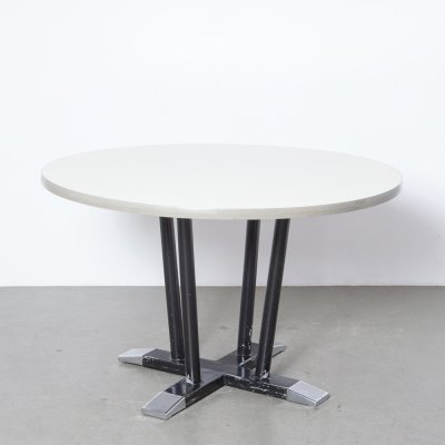 Round 'Tenen / Toes' table by Christoffel Hoffmann for Gispen, 1950s