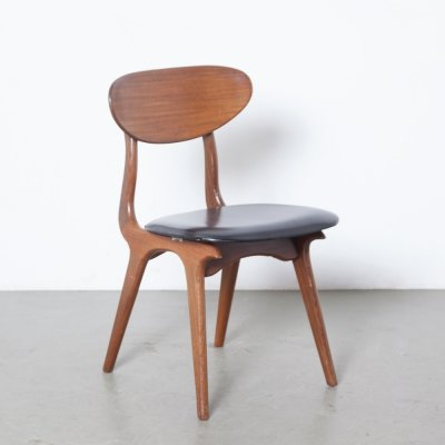 Dining room chair by Louis van Teeffelen for Wébé, 1960s