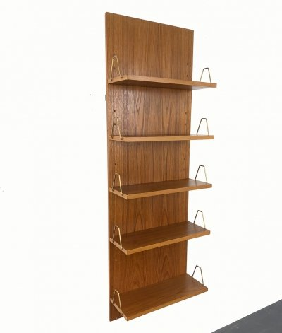 Mid-Century Teak Wall Shelf by Günter Renkel for Rego Mobile, Germany 1960s