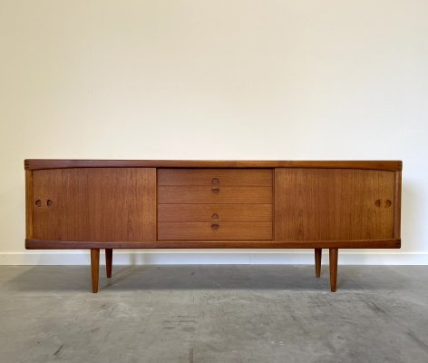 Danish teak sideboard by HW Klein for Bramin, 1960s