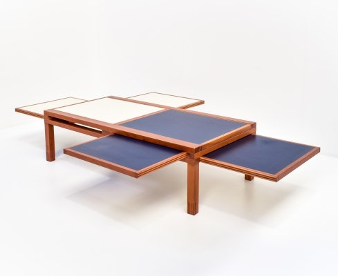 Hexa Coffee Table by Bernard Vuarnesson for Bellato