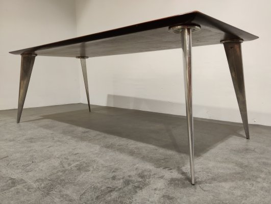 M Series Dining table by Philippe Starck for Aleph, 1987