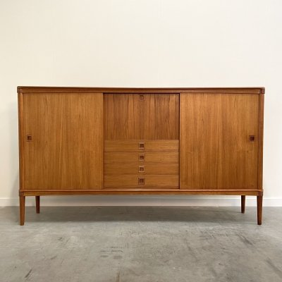Danish mid century highboard by HW Klein for Bramin