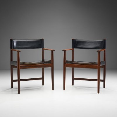 Pair of Kurt Østervig Dining Chairs for Sibast, Denmark 1960s