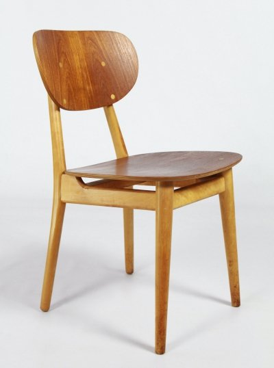 SB13 dining chair by Cees Braakman for Pastoe, 1950s