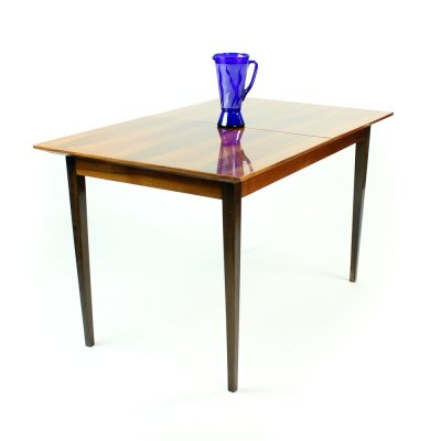 Large Extendable Dining Table In Mahogany By Interier Praha, Czechoslovakia 1960s