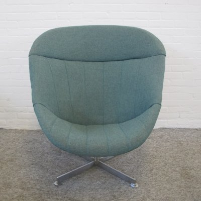 Swivel lounge chair by Rudolf Wolf for Rohé Noordwolde, 1960s