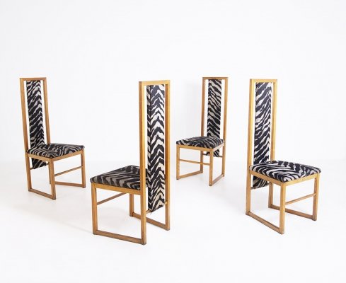 Set of Four Dining Chairs, 1950s