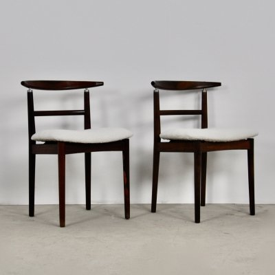 Dining Chairs by Helge Sibast & Jörgen Rammeskov for Sibast Furniture, 1962