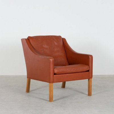 Model 2207 lounge chair by Børge Mogensen for Fredericia Stolefabrik, 1980s