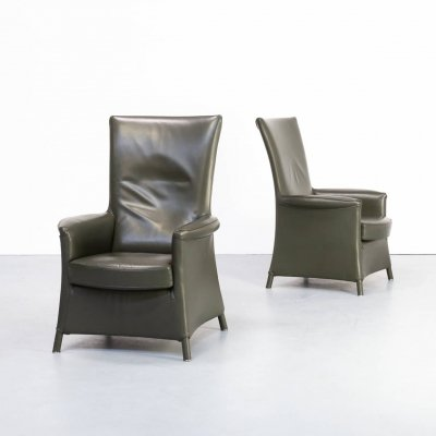Pair of Paolo Piva 'Alta' armchair for Wittmann, 1990s