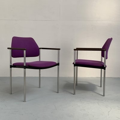 Pair of rare armchairs by Kembo, Netherlands 1960s