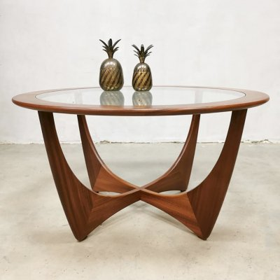 Midcentury design 'Astro' coffee table by Victor Wilkins for G Plan