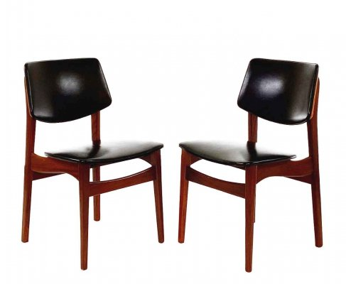 Two vintage dining chairs, 1960s