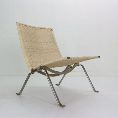 Poul Kjaerholm PK22 Easy Chair for E. Kold Christensen, Denmark 1956