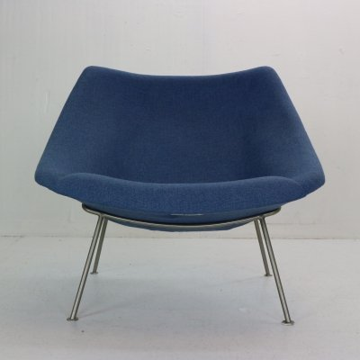 Pierre Paulin F157 'Oyster' Lounge Chair for Artifort, 1964