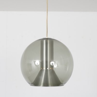 Big Globe hanging lamp by Frank Ligtelijn for Raak Amsterdam, 1960s