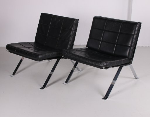 Set of lounge chairs model 1600 by H. Eichenberger for Girsberger
