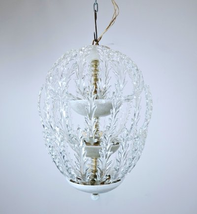 Murano Glass Ceiling Light for Venini, Circa 1940