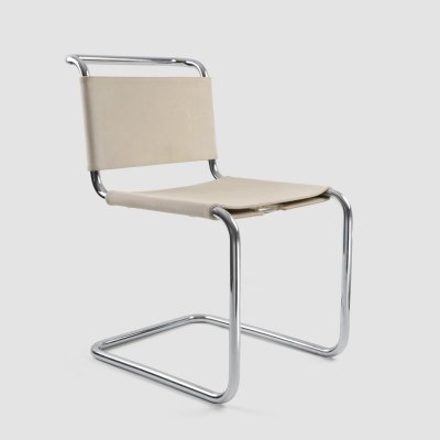 4 x B33 dining chair by Marcel Breuer for Gavina, 1970s