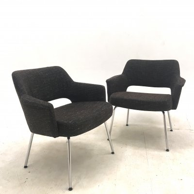 Pair of Lounge chairs by Hein Salomonson for AP Originals