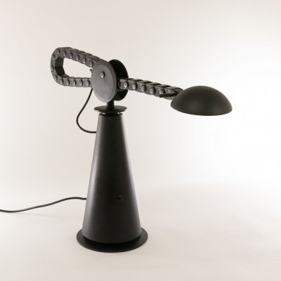 Gaucho desk lamp by Studio PER for Egoluce, 1980s