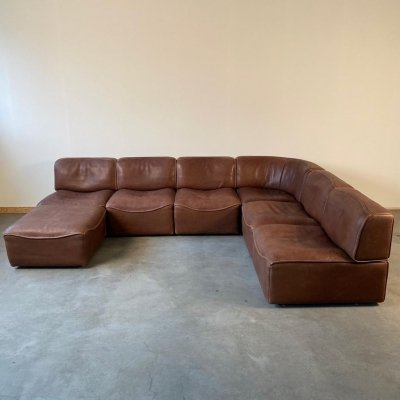 Modular DS 15 sofa by De Sede (7 elements)