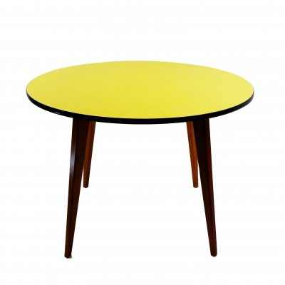 Round Dining Table by 't Centrum Culemborg, 1970s