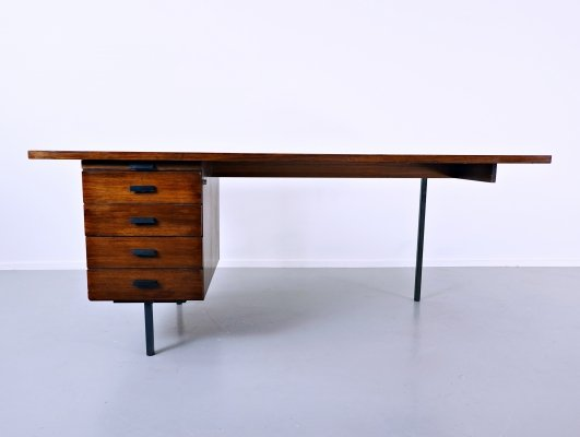 Asymmetric Desk in Teak, 1960s