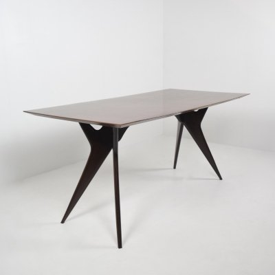 Ico Parisi Dining- or Working Table for MIM Roma, Italy 1950's