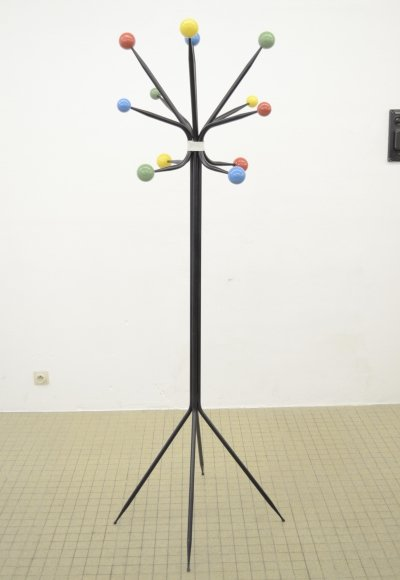 Midcentury Coat rack by Roger Feraud, 1960s