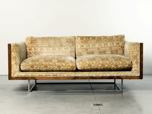 Pair of Milo Baughman sofas for Thayer-Coggin, 1960s