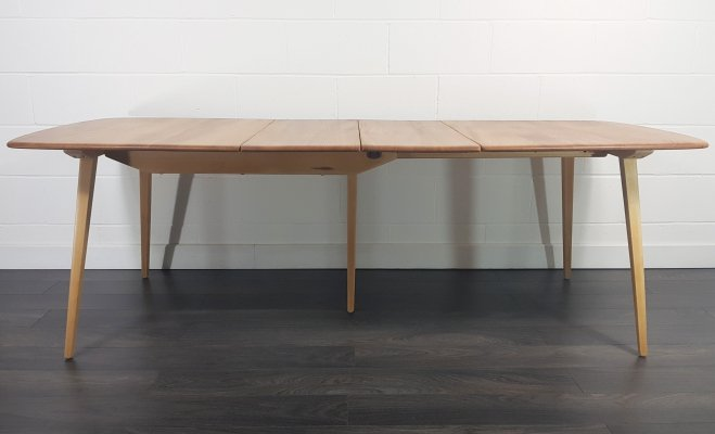 Ercol Grand Extending Dining Table, 1960s