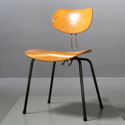 Extremely rare chair SE 66 by Egon Eiermann for Wilde+Spieth