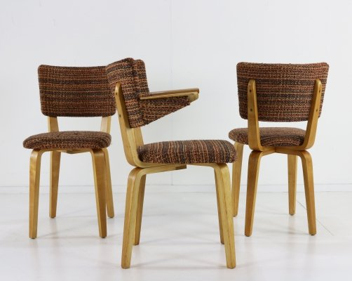 Set of 3 dining chairs by Cor Alons