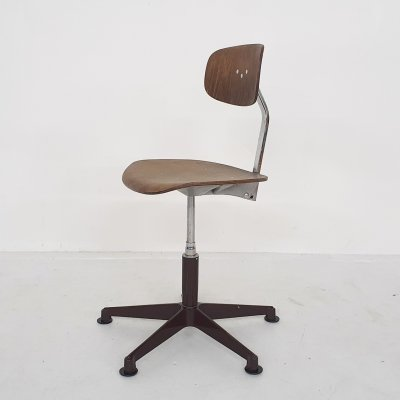 Stal & Stil office chair or drawing stool, Norway 1960's