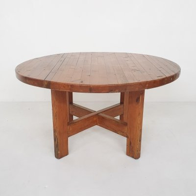 Pinewood dining table by Roland Wilhelmsson for Karl Andersson & Sonner, Sweden 1960s