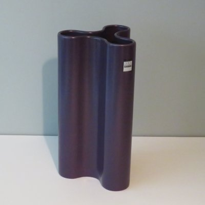 Deep purple vase by ASA Selection, Germany 1980s