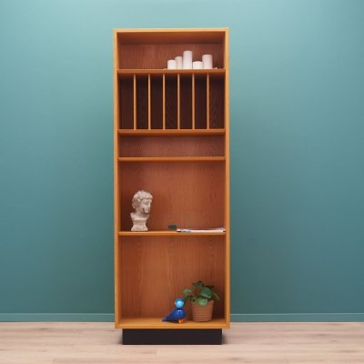 Ash bookcase by Hundevad & Co, Denmark 1970's