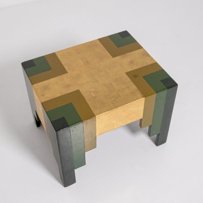 Paul Follot wooden occasional table, France 1929