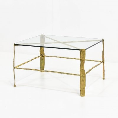 Bronze Side Table by David Marshall, 1970s