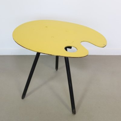 Small side table by Lucien de Roeck (souvenir at the 1958 World Expo in Brussels)