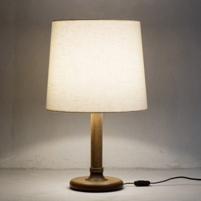 Oak table lamp 'Type 61' by Temde, 1970s