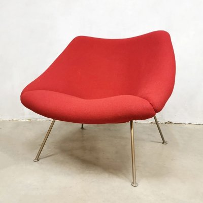 Dutch design F157 'Oyster' easy chair by Pierre Paulin for Artifort, 1980s